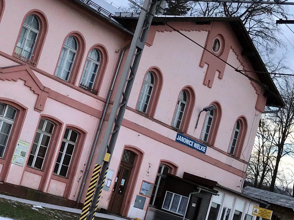 Janowice Wielkie, Poland - railway station