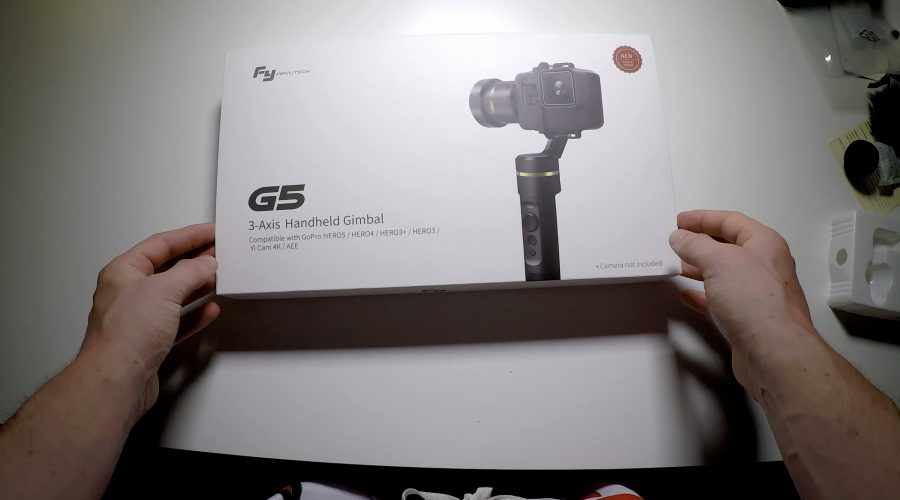 Unboxing the new Feiyu-tech G5 | vlog 4